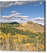Colors In Colorado Acrylic Print by James Steele