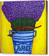 Colours Of Provence Acrylic Print by Lisa  Lorenz