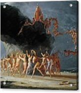 Come Unto These Yellow Sands Acrylic Print by Richard Dadd