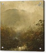 Coming Storm In The Adirondacks Acrylic Print by William Sonntag