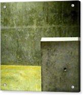 Concrete Acrylic Print by Slade Roberts