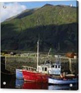 Connemara, Co Galway, Ireland Fishing Acrylic Print by The Irish Image Collection