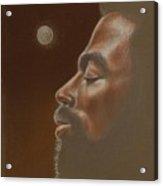 Consider The Moon Acrylic Print by Raymond Walker