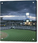 Coors Field, Denver, Colorado Acrylic Print by Michael S. Lewis
