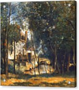 Corot - The Mill Acrylic Print by Granger