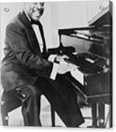 Count Basie 1904-1984, African American Acrylic Print by Everett