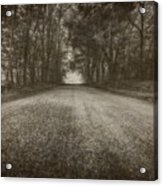 Country Road Acrylic Print by Everet Regal