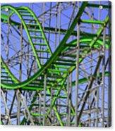 County Fair Thrill Ride Acrylic Print by Joe Kozlowski
