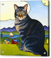 Coupeville Cat Acrylic Print by Stacey Neumiller