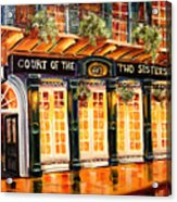 Court Of The Two Sisters Acrylic Print by Diane Millsap