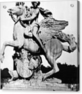 Coysevox: Mercury & Pegasus Acrylic Print by Granger