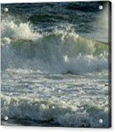 Crashing Wave Acrylic Print by Sandy Keeton