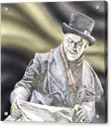 Creepy Thoughts Acrylic Print by Preston Shupp