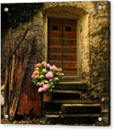 Croatian Stone House Acrylic Print by Don Wolf
