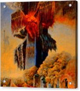 Cross Of The Third Millennium Acrylic Print by Henryk Gorecki