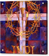 Crown Of Thorns Acrylic Print by Mark Jennings