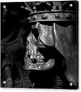 Crowned Death II Acrylic Print by Marc Huebner