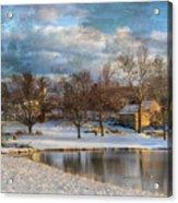 Cyrus Mccormick Farm Acrylic Print by Kathy Jennings