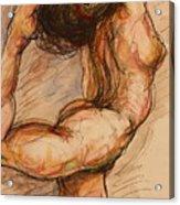 Dance After Rodin Acrylic Print by Dan Earle