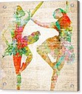 Dance With Me Acrylic Print by Nikki Smith