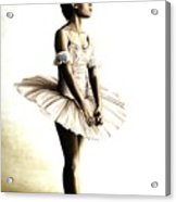 Dancer At Peace Acrylic Print by Richard Young