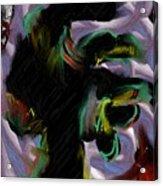 Dancer Acrylic Print by Ron Bissett