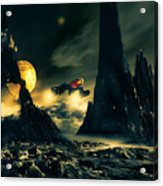 Dark Planet Acrylic Print by Bob Orsillo