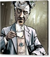 David Lynch - Strange Brew Acrylic Print by Sam Kirk
