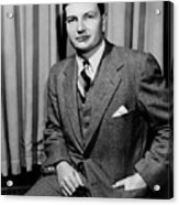 David Rockefeller B. 1915 Grandson Acrylic Print by Everett