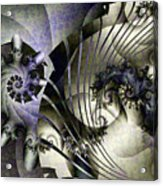 David's Lyre Acrylic Print by David April