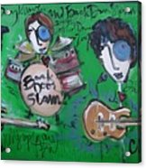 Davy Knowles And Back Door Slam Acrylic Print by Laurie Maves ART