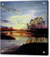 Dawn Acrylic Print by Jane Autry