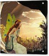 Dawn Acrylic Print by Mary Morawska