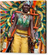 Dc Caribbean Carnival No 16 Acrylic Print by Irene Abdou