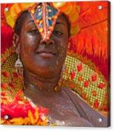 Dc Caribbean Carnival No 24 Acrylic Print by Irene Abdou