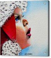 Dear Santa Acrylic Print by Maria Barry