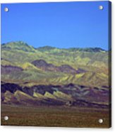 Death Valley - Land Of Extremes Acrylic Print by Christine Till