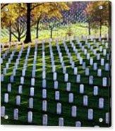 Debt Of Gratitude Acrylic Print by Mitch Cat