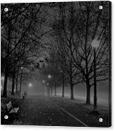 December Morning In Riverfront Park - Spokane Washington Acrylic Print by Daniel Hagerman