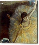Degas: Arabesque, 1876-77 Acrylic Print by Granger