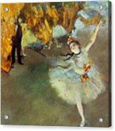 Degas: Star, 1876-77 Acrylic Print by Granger