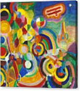 Delaunay: Hommage Bleriot Acrylic Print by Granger