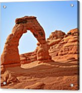 Delicate Arch The Arches National Park Utah Acrylic Print by Christine Till