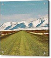 Dempster Highway - Yukon Acrylic Print by Juergen Weiss