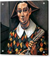 Derain: Harlequin, 1919 Acrylic Print by Granger