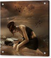 Desolation Acrylic Print by Mary Hood