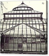 Detroit Belle Isle Conservatory Acrylic Print by Alanna Pfeffer