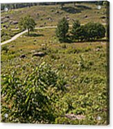 Devils Den From Little Round Top Acrylic Print by David Bearden