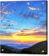 Digital Liquid - Good Morning Virginia Acrylic Print by Metro DC Photography