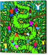 Divine Serpent Acrylic Print by Dimitri Beaulieu